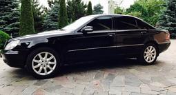 Mercedes-Benz S 600 2000 года за 6 500 000 тг. в Алматы – фото 4