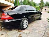 Mercedes-Benz S 600 2000 года за 4 500 000 тг. в Алматы – фото 5