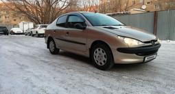 Peugeot 206 2006 года за 2 050 000 тг. в Нур-Султан (Астана)