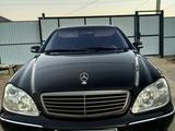 Mercedes-Benz S 500 2000 года за 2 800 000 тг. в Атырау