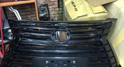 Решетка радиатора Lexus Lx 570 Black VISION! за 300 000 тг. в Алматы – фото 2
