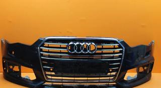 Audi A6 C7 Рест. с 14 S-Line Бампер с решеткой за 150 000 тг. в Алматы