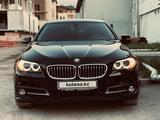 BMW 528 2014 года за 11 800 000 тг. в Алматы