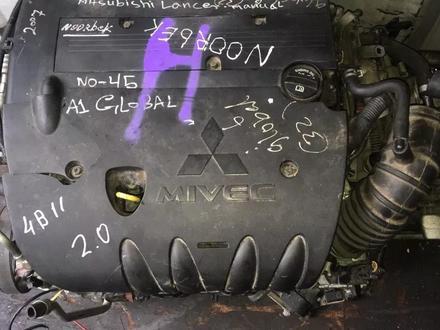 Контрактный двигатель 4b10 4b11 1.8л и 2.0л за 350 000 тг. в Алматы