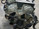 Двигатель Nissan Infinity 3, 5Л VQ35 Япония Идеальное за 73 500 тг. в Алматы
