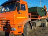 КамАЗ  портальный бункеровоз 12 кубов 2020 года в Атырау – фото 2