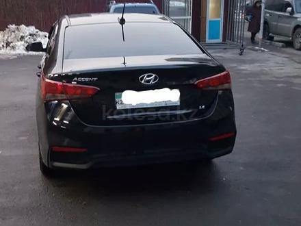 Hyundai Accent 2019 года за 6 200 000 тг. в Алматы – фото 5