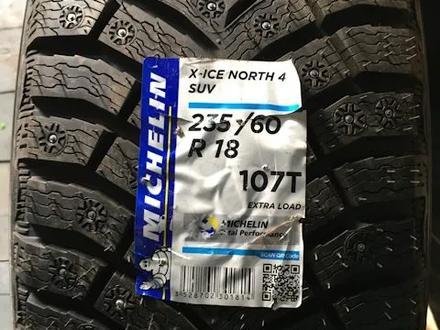 Шины Michelin 235/60/r18 Xice North 4 за 68 000 тг. в Алматы