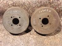 Барабаны тормозные задние на Nissan Prarie PRO, v2.4, KA24 (1991… за 4 500 тг. в Караганда