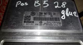 ЭБУ компьютер двигателя мотора АКПП на Passat b5 Пассат б5… за 15 000 тг. в Алматы