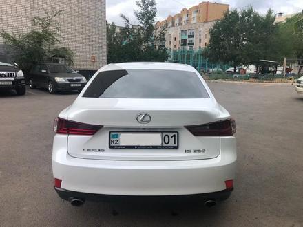 Lexus IS 250 2014 года за 10 600 000 тг. в Нур-Султан (Астана) – фото 5