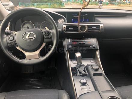Lexus IS 250 2014 года за 10 600 000 тг. в Нур-Султан (Астана) – фото 6