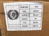 Комплект новых дисков на Mercedes-Benz GLS GLE GLES: 22 5 112 за 1 350 000 тг. в Актау – фото 5