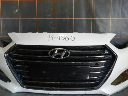 Бампер передний - Hyundai i40 за 91 000 тг. в Алматы