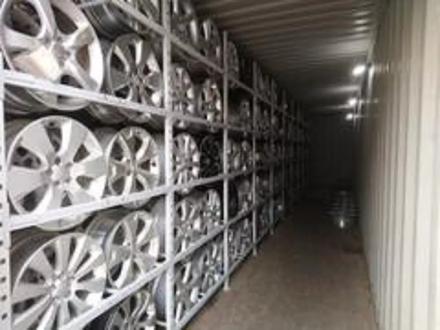 Диски оригинальные из Японии. Subaru j7 ET55 за 160 000 тг. в Алматы – фото 5