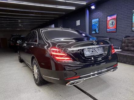Полный рестайлинг Mercedes-Benz w222 Maybach 2018 + за 5 000 тг. в Алматы – фото 2