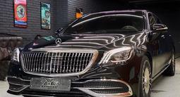 Полный рестайлинг Mercedes-Benz w222 Maybach 2018 + за 5 000 тг. в Алматы