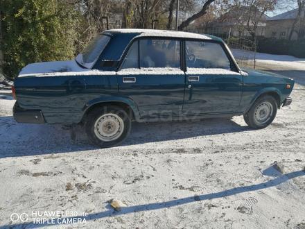 ВАЗ (Lada) 2107 1998 года за 650 000 тг. в Туркестан – фото 2