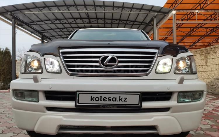 Lexus LX 470 2006 года за 10 500 000 тг. в Алматы