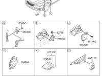 Блок управления подушками безопасности Cadenza 2013 за 93 000 тг. в Алматы