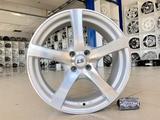 Диски литые LS 357 4x98 r17# 1097 серебристые лучи с полиролью за 38 500 тг. в Тольятти