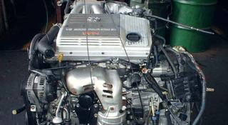 Двигатель Toyota Highlander XU20 3, 3 л. 3MZ-FE 2000-2007 за 420 000 тг. в Алматы