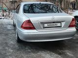 Mercedes-Benz S 320 2002 года за 3 400 000 тг. в Алматы – фото 2
