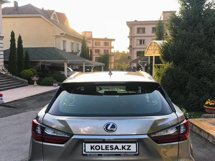 Lexus RX 200t 2017 года за 19 400 000 тг. в Алматы – фото 5