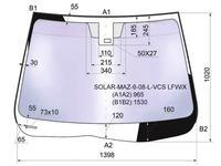 Стекло лобовое + дд в клей Mazda 6 4/5d 08-12 за 47 750 тг. в Алматы