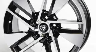 Диски Toyota R18 5x114.3 (1040 Black) за 180 000 тг. в Алматы