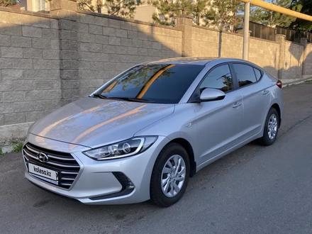 Hyundai Elantra 2018 года за 6 500 000 тг. в Алматы – фото 2