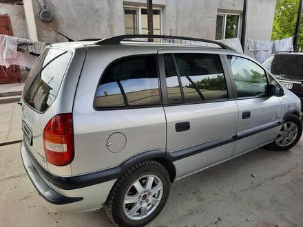 Opel Zafira 2002 года за 2 700 000 тг. в Шымкент – фото 8