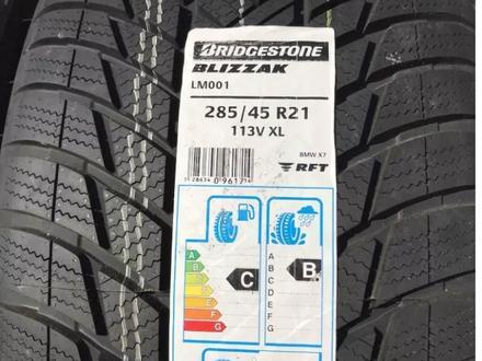 285-45-21 Bridgestone Blizzak LM001 (RUN FLAT) за 116 000 тг. в Алматы – фото 2