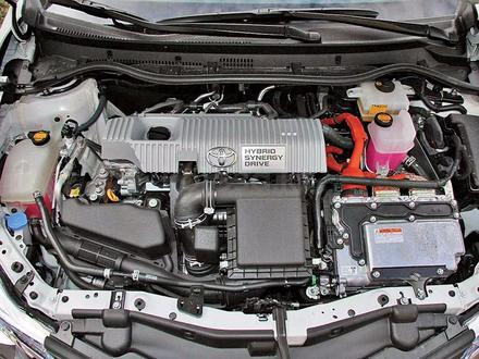 Двигатель Toyota Prius 1.8 л. Hybrid 2ZR-FXE 2009-н. в за 260 000 тг. в Алматы