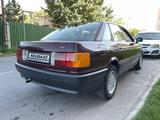 Audi 80 1991 года за 1 400 000 тг. в Алматы – фото 3