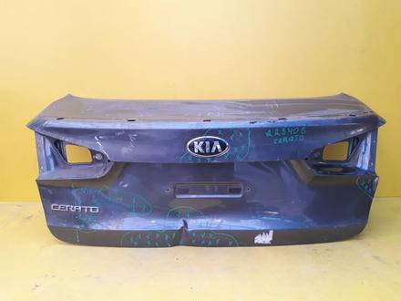 Крышка багажника KIA Cerato 3 13-н. в за 18 000 тг. в Нур-Султан (Астана)