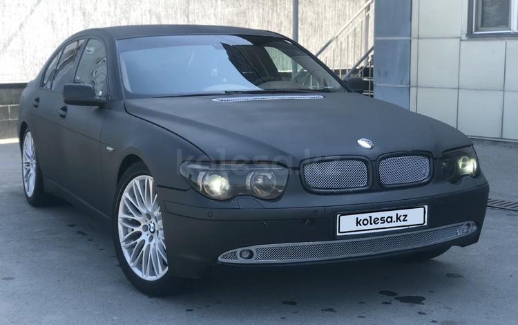 BMW 735 2001 года за 3 555 555 тг. в Алматы