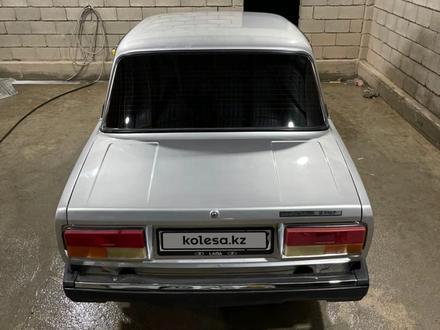 ВАЗ (Lada) 2107 2010 года за 1 300 000 тг. в Туркестан – фото 2