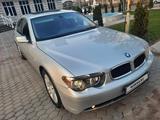 BMW 745 2003 года за 4 780 000 тг. в Алматы – фото 2