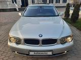 BMW 745 2003 года за 4 780 000 тг. в Алматы – фото 3