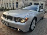 BMW 745 2003 года за 4 780 000 тг. в Алматы – фото 5