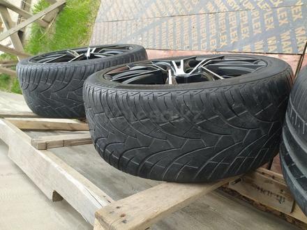 Диски с резиной на BMW 235/40/R18 за 140 000 тг. в Алматы – фото 6