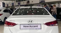 Hyundai Accent 2021 года за 6 990 000 тг. в Шымкент – фото 4