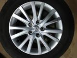 Диски r16 с летней резиной 215 60 16 на Toyota Camry 30, 40, 50, 55, 70. за 220 000 тг. в Алматы – фото 5