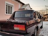 ВАЗ (Lada) 2107 2008 года за 1 180 000 тг. в Туркестан – фото 3