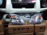 Фары на Toyota LC Prado 120. Головная оптика на TLC… за 32 000 тг. в Караганда – фото 3