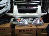 Фары на Toyota LC Prado 120. Головная оптика на TLC… за 32 000 тг. в Караганда – фото 4