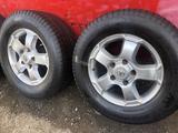 R 18 диски тойота оригинал с резиной 285-60-18 continental зима за 155 000 тг. в Алматы – фото 4