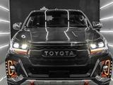Передние фары на Toyota Hilux Revo 2016-20 стиль AUDI за 230 000 тг. в Тараз – фото 4