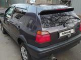 Volkswagen Golf 1993 года за 1 200 000 тг. в Алматы – фото 5